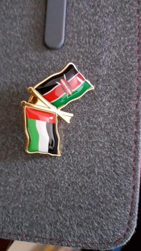 UAE - Kenya Flag