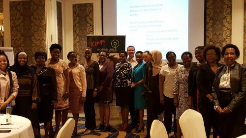 Women-able Roadshow participants in Kenya 2017